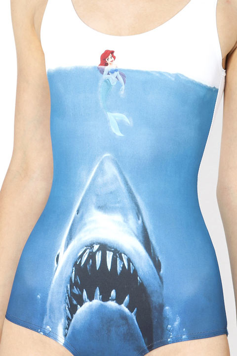 Fashion – Maillot de bain Shark versus Arielle la sirène by BlackMilk