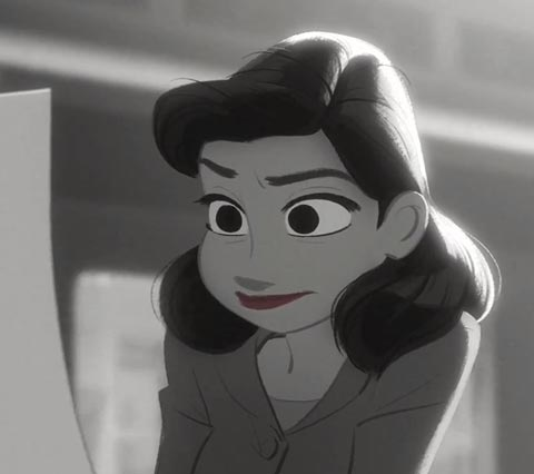 Paperman – Court métrage par Disney Animation