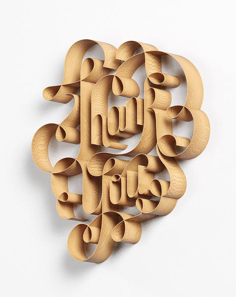 Artiste – D'incroyables typographies par David McLeod