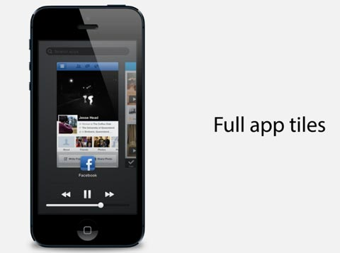 Apple iOS 7 : un concept multitâches par Jesse Head
