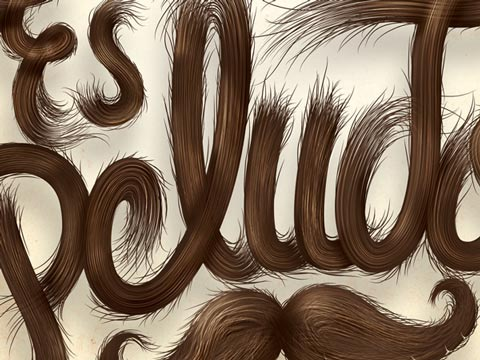 Inspiration typographique – Old Spice by Alan Guzman