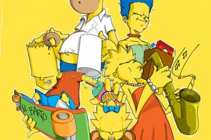 Famille-Simpsons-revisitee_1