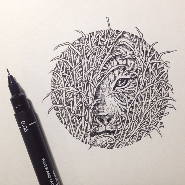 De Superbes Illustrations 224 La Main Par Kerby Rosanes