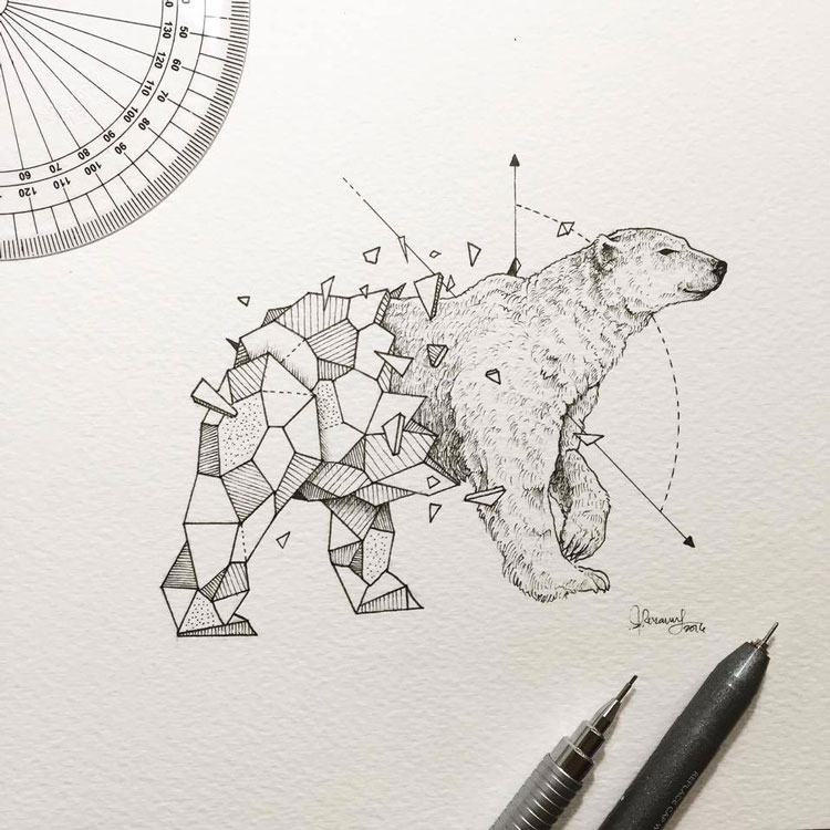 Geometric-Beasts-illustrations-1