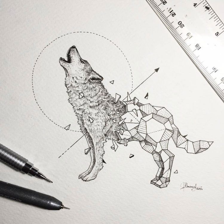 Geometric-Beasts-illustrations-6