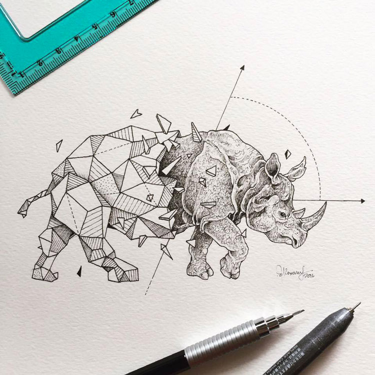 Geometric-Beasts-illustrations-8