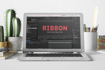 RIBBON-typo-anime-video_1