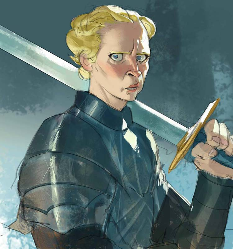 Game Of Thrones Characters By Ramon Nuñez