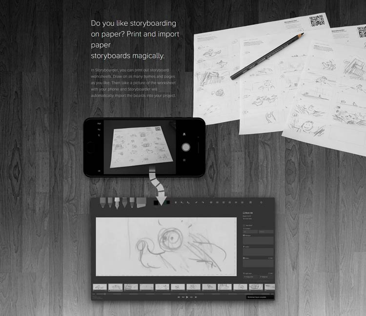 storyboarder une application gratuite pour cr er vos storyboards. Black Bedroom Furniture Sets. Home Design Ideas
