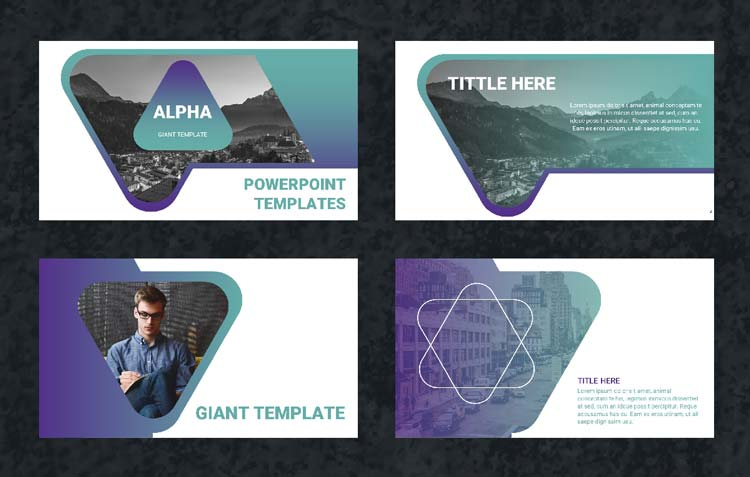 alpha un template powerpoint gratuit de 30 slides